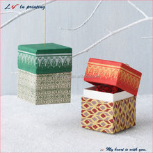 new style christmas gift box ornaments with lid for for Christmas & Valentines' day gift
