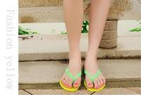 Uniseason Crystal PVC Rubber Slippers And Sandal