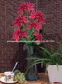 flor artificial em vaso