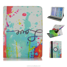 NEW Rotary Folio Flip Stand PU Leather Cases For Samsung Galaxy Tab A 9.7inch T550 Made in China Manufacture