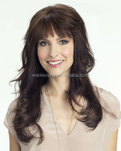 long 3/4 fall with soft curls that seamlessly blends with your own hair, overcomeing the limitations of short hair