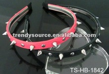 FASHION LEATHER ALICE BAND WITH STUDS
