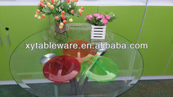 Beautiful candy plastic pet bowl of new material PLA