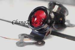 sportster black Taillight / led taillight / wheel model brass tail for harley sportster/bobber/chopper
