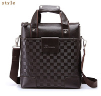 China manufacturer low price leather briefcases mens