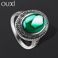 OUXI new model lucky stone finger ring china factory direct wholesale jewelry ring