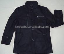 2015 fashion men's woolen cloth jacket SW-002