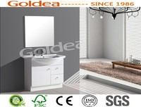 home decor chinese new product modern floor free standing bathroom cabinet