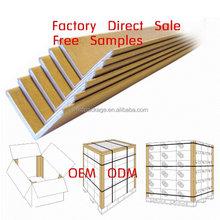 brown paper traingle shape edge protectors paper for box
