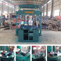 Lost invest coal dust briquette making machine