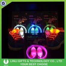 4th Generation Led Light Shoelace With Battery Luminous Led Laces