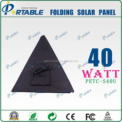 Fashionable 40W umbrella portable flexible thin film solar panel