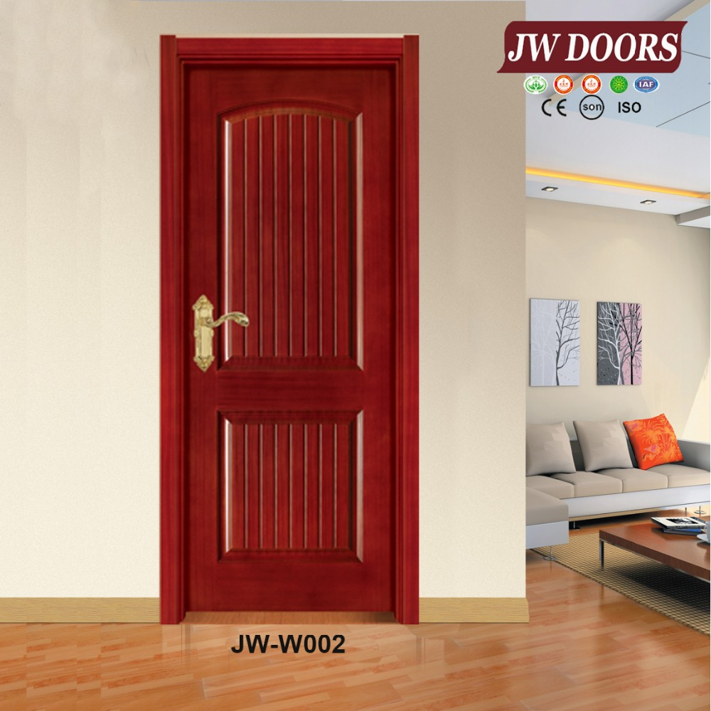 High quality teak wood main door models internal painting door solid wooden doors