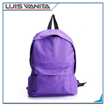 Boys and Girls Purple Canvas Casual Work Travel Hiking Laptop Backpack