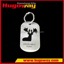 Casting Crafts China products high quality Souvenir Gifts stainless steel dog tag bottle opener