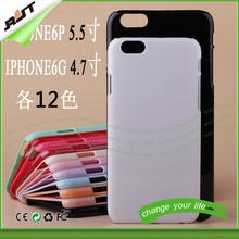 Promotion 3d sublimation rubber cell phone cases for iphone 6& mobile phone case printing