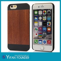 China cell phone accessory factory,wood case cover for apple iphone 6 6 plus