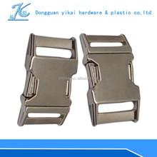 lanyard metal buckle,25mm lanyard buckle,curved buckle for bag lanyards