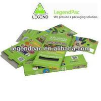Personalized cardboard case color pencil and crayon packaging box promotion