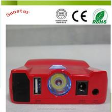 Multifunctinal multiple jump starter batterie bank for 12V car or DV or mobiel phone bettery charger