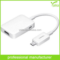 HDTV Adapter for Samsung Galaxy mhl cable