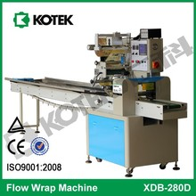 Family Use Pillow Type Pack Automatic Horizontal Wafer Biscuit Packaging Equipment Flow Chocolate Packing Machine Manufacturer
