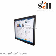 """55"""" wall mounted digital notice board for information"""