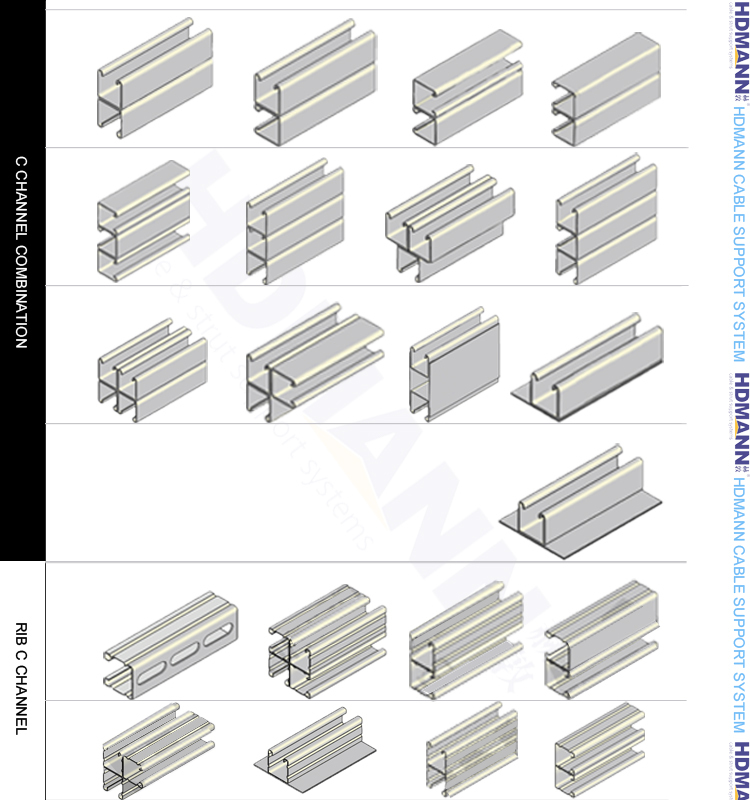 Stainless Steel c Channel Dimensions Stainless Steel Strut Channel