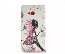 phone accessories super slim flora printing flip wallet leather case for Nokia Lumia 640 , for Nokia Lumia 640 case leather