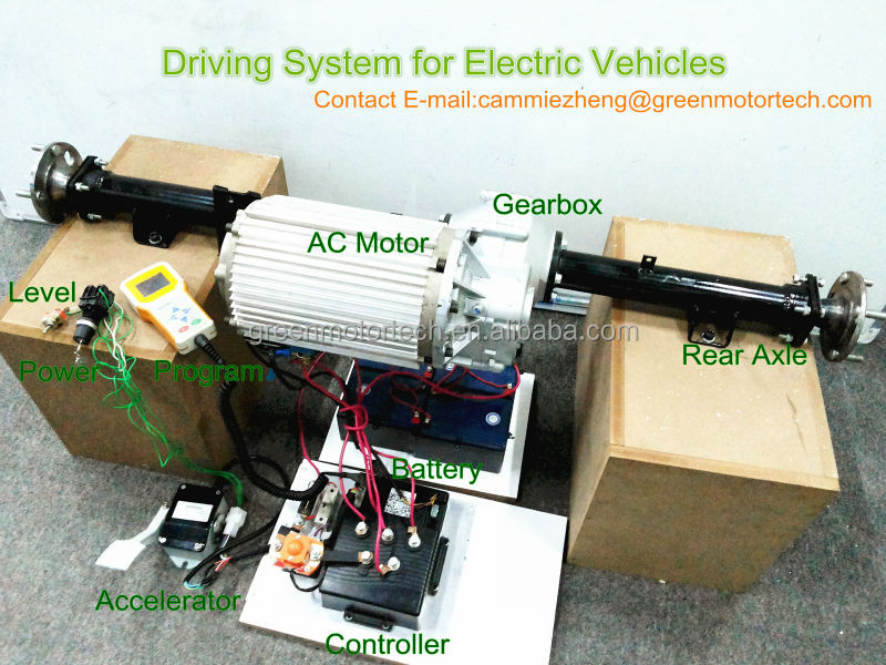 brushless ac electric motor 48v 3kw for electric tricycle,rickshaw