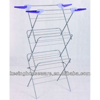 New Trio Steel Clothes Aier / Clothes Drying Rack with New Style Hanger Hook