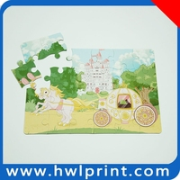 Promotional puzzle cube made in China mainland paper jigsaw puzzle