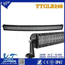 Free Wiring KIT 240w 41.5inch240w LED Offroad Light Bar ATV SUV 4WD Farming Truck 4x4 Combo Work Driving Light Bar 240W