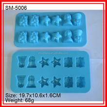 Multi shapes silicone icing mold chocolate mold