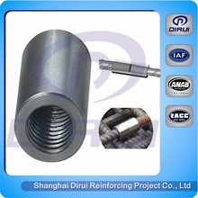 Construction coupler Bar splicer rebar coupler price for building supplies