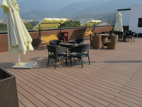 high quality decking flooring waterproof outdoor deck floor covering solid wood