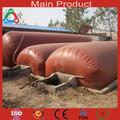 Amanecer Tecnología buenos productos pvc biogás plástico portátil biogas china digestor