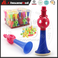 Plastic Trumpet Toy Candy For Children