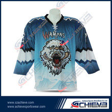 custom team set ice hockey jerseys/ factory direct supplying