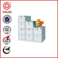 SJ-086 office furniture modern godrej metal four drawer free standing cabinet drawer