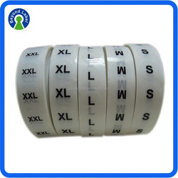 Self Adhesive Plastic Label Printing, Removable Self Adhesive Clear Seal Sticker,Roll Packing Waterproof Seal Label With High Qu