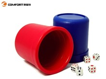 2015 new small mini cheap wholesale portable dice cup