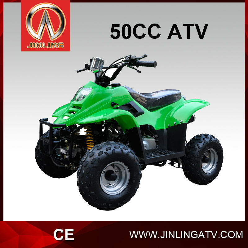 Jinling kids gas powered atv 50cc small atv tire with for Motorized 4 wheeler for toddlers