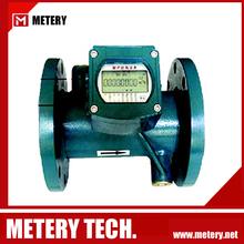 Rs485 tubería de la batería de ultrasonidos medidor de agua MT100W