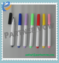 2015 hot sell whiteboard marker with eraser magnet/white dry erase marker pen