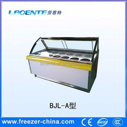 ice cream display showcase chiller ice cream chest freezer used refrigeration equipment for commercial use