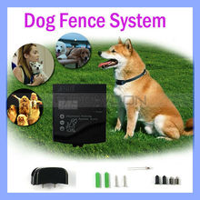 Waterproof Underground 2 Shock Collars Electric W227D Dog Fencing System