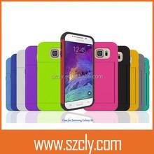 Plastic mobile phone case hot selling case for samsung A7 credit card holder,rober case for samsung A7