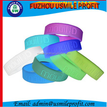 Promotional Cheap Silicone Finger Rings Noctilucence Light in the Dark