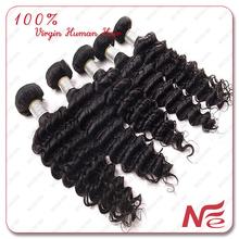 Wholesale Indian Hair Vendor In India Supply 100% Human Hair Bundles Deep Wave